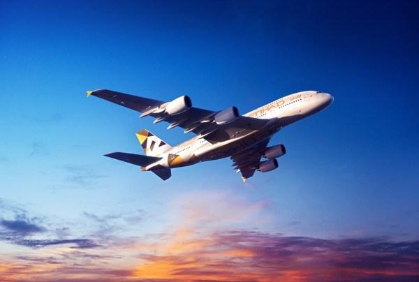 阿提哈德航空A380客机