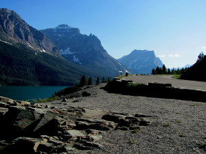 Going to the Sun Road at Glacier National Park
