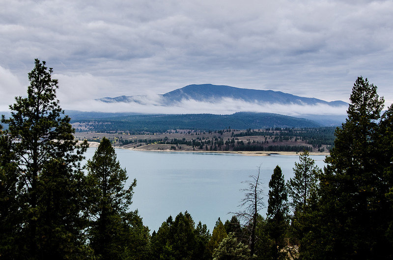 Road Cycling Lake Koocanusa, MT