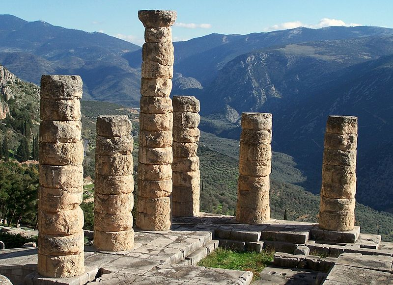 Uncovering the Temple of Apollo at Delphi
