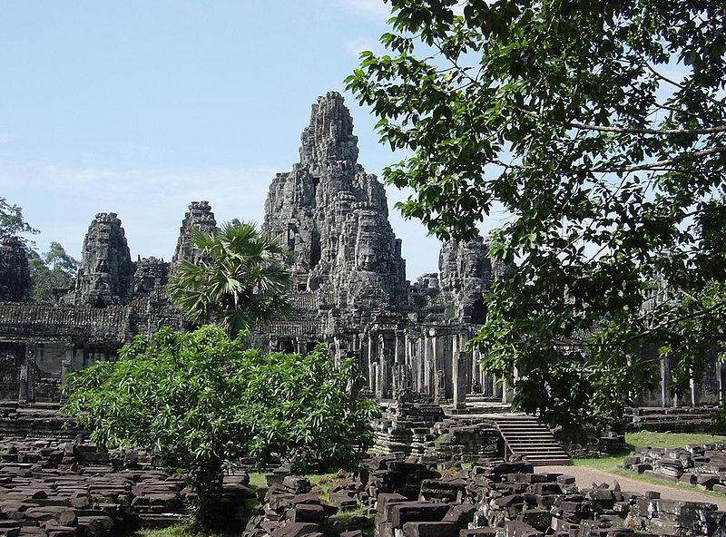 Sacred Places: Bayon Temple, Cambodia
