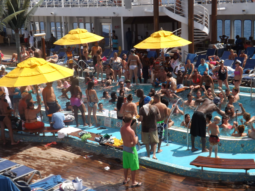 Cruising the Caribbean with the Carnival Sensation