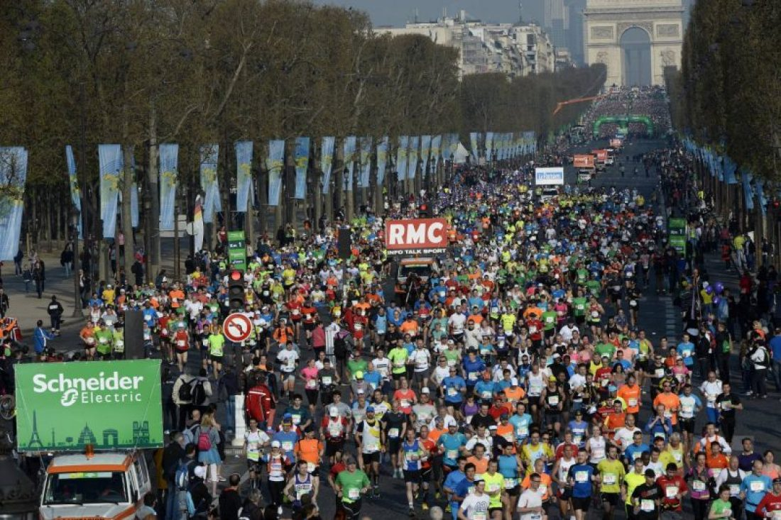 Photo courtesy of Paris Marathon