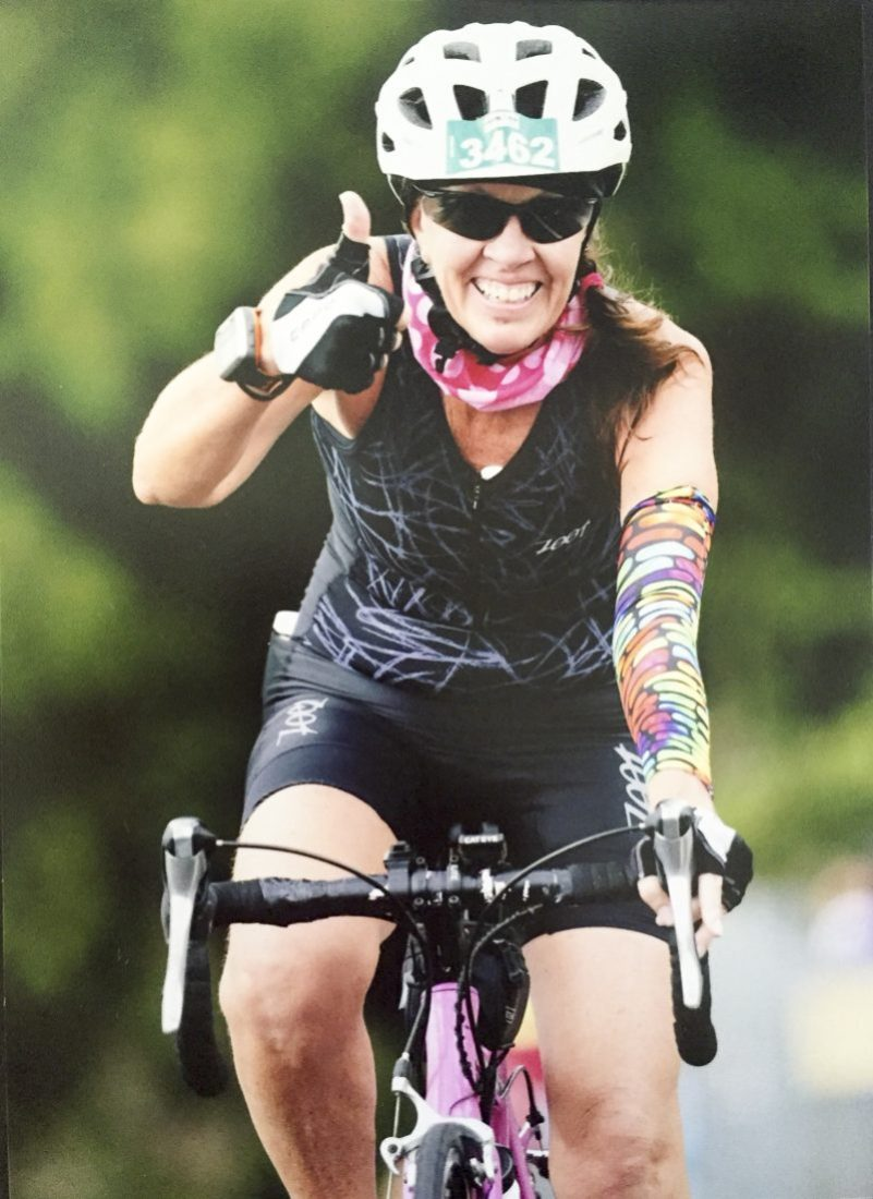 Ironman bike leg Photo Cairns Post