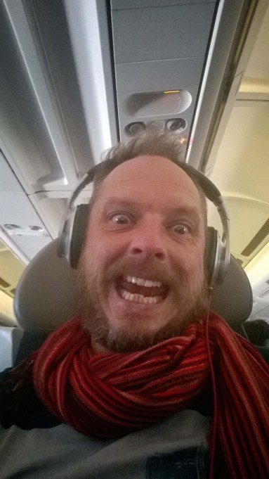 This is how happy Jempi was with his amazing Brussels Airlines New York-deal.