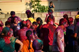 Colorful Holi