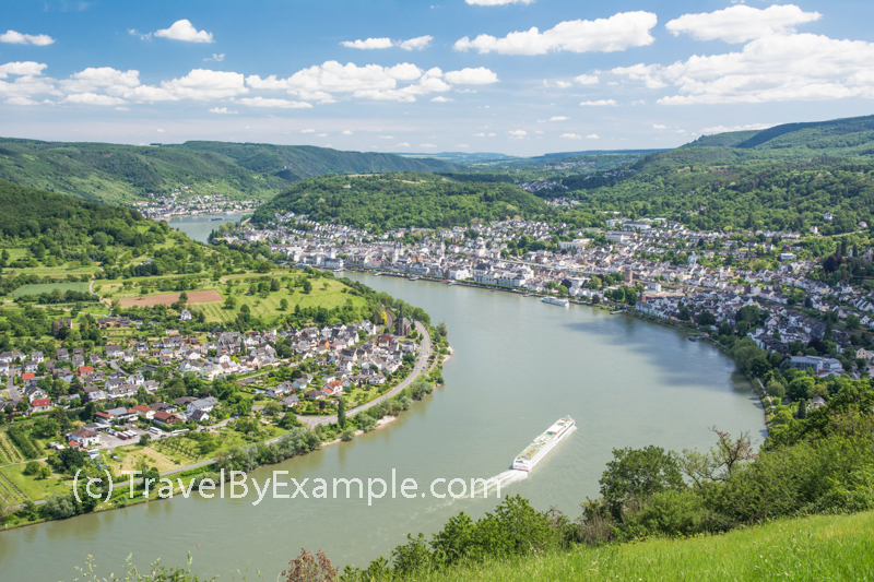 Travel by Example - Scenic Middle Rhine cruise