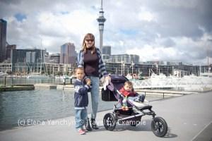 Elena, Roman and Andrey, Auckland