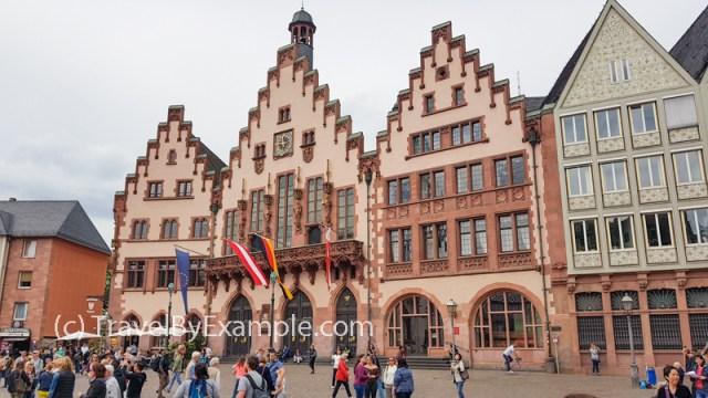 Frankfurt's Römer – medieval building complex