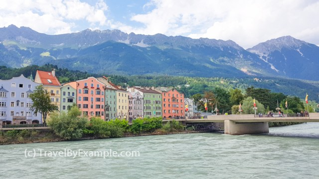 Colorful houses of Innsbruck