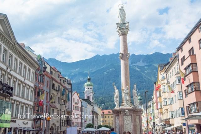 Innsbruck city center