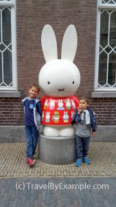 Roman, Andrey and Nijntje. Utrecht