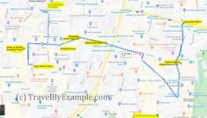 TravelByExample - Antwerp walk 1