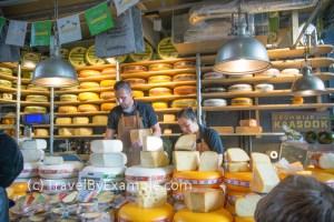 Cheese at Market Hall stall, Rotterdam