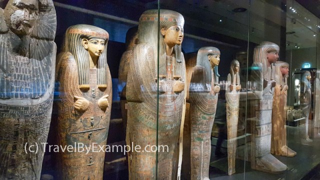 Anciant Egypt section of National Museum of Antiquities