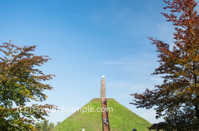 Pyramid of Austerlitz is not far from Amersfoort