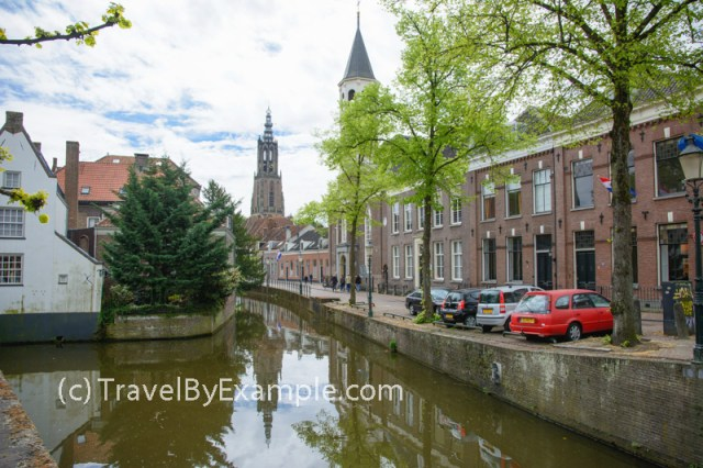 Canals of Amersfoort - view from Breestraat