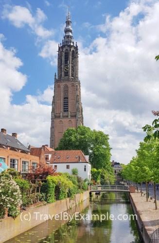 Onze-Lieve-Vrouwetoren - the 15th century church tower in Amersfoort