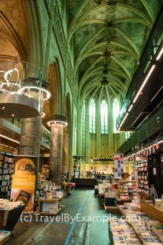 Bookshop Dominicanen in Maastricht