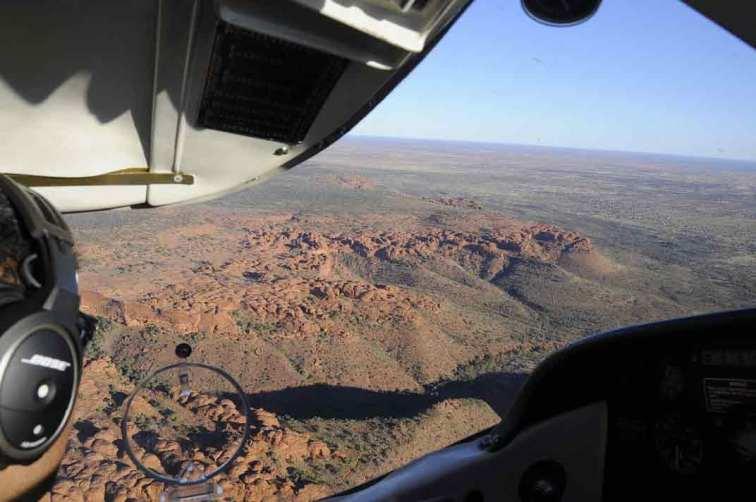 Flight over Kings Canyon