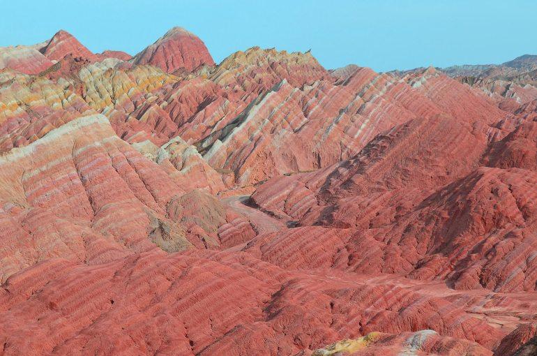 מדבריות דז'אנגייה - צבעים עוצרי נשימה (צילום: נוגה פייגה)