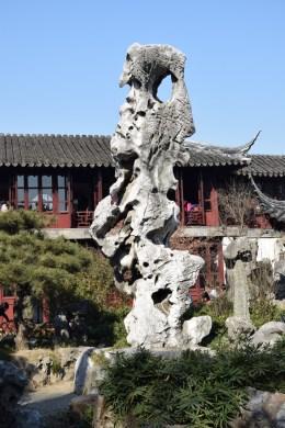 אבן מאפיינת של גן קלאסי, גן ההשתהות (צילום: טל ניצן)