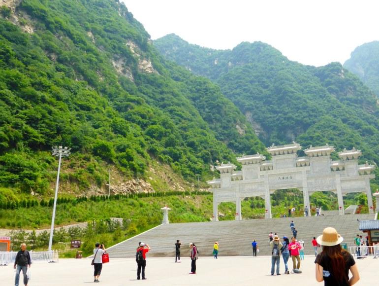 להר נודעה חשיבות רבה בהיסטוריה הסינית (צילום: שלי ברנשטיין)