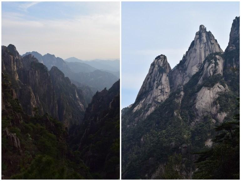 נופי ההר הצהוב - נראים כמו ציור סיני קלאסי (צילום: טל ניצן)