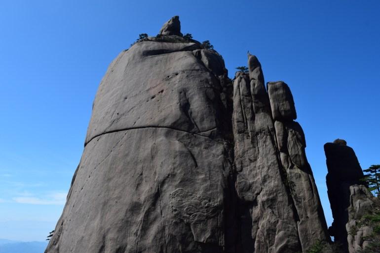 מצוקי אבן דרמטיים בהר הצהוב (צילום: טל ניצן)