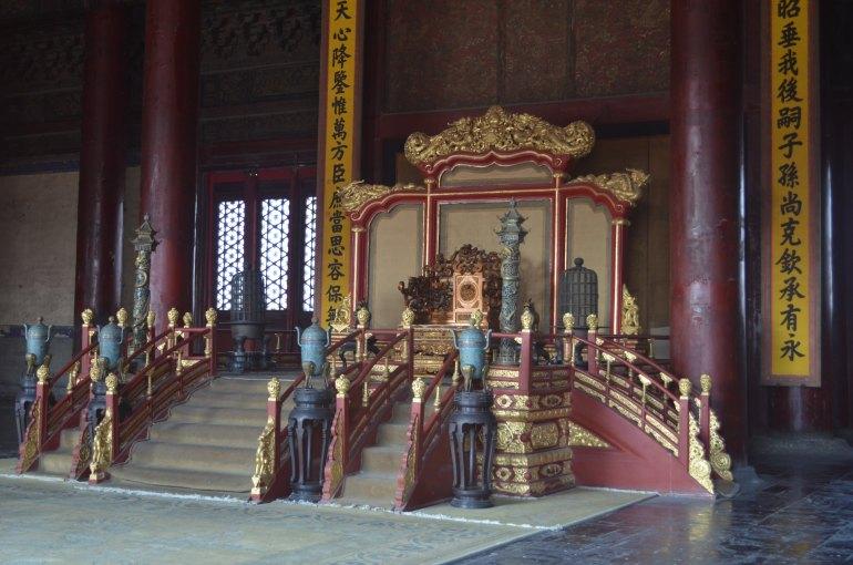 כס המלוכה בהיכל שימור ההרמוניה (צילום: נוגה פייגה)