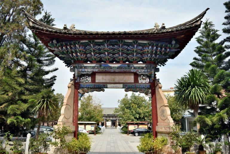 השער למקדש דז'ה-לין (צילום: טל ניצן)