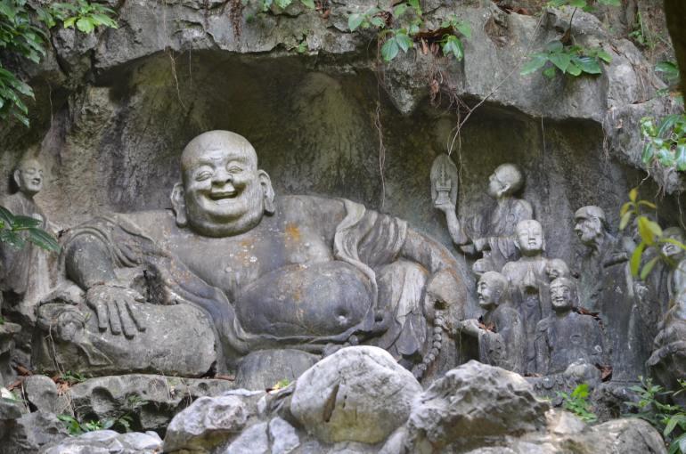 הבודהה הצוחק (צילום: נוגה פייגה)