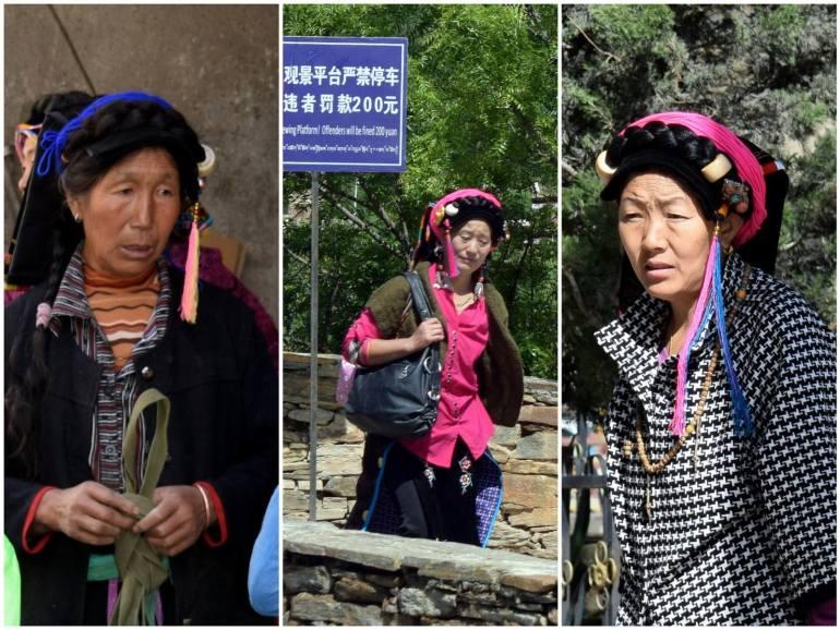 כיסויי הראש של נשות תרבות הג'יארונג (צילום: טל ניצן)