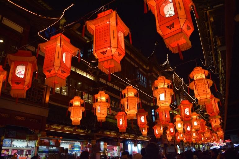 חג הפנסים - אחד המחזות המרשימים בסין (צילום: טל ניצן)