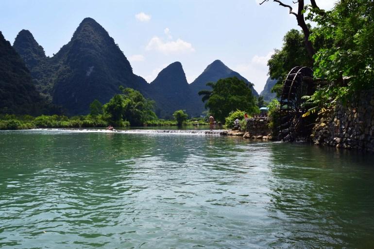 נהר יולונג (צילום: טל ניצן)