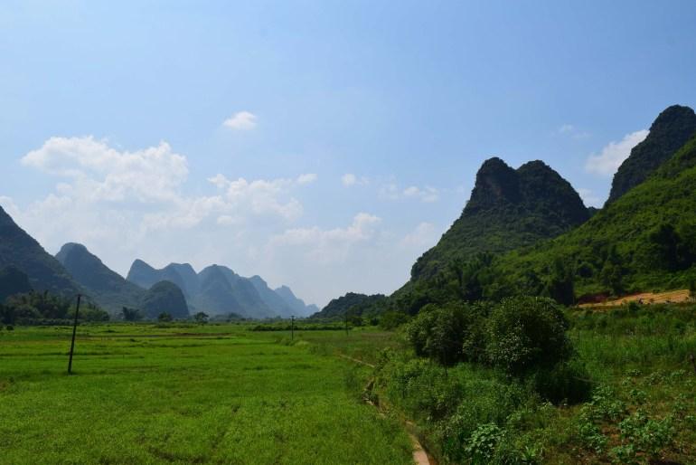 עמק נהר יולונג - אחד המסלולים האהובים ביותר (צילום: טל ניצן)