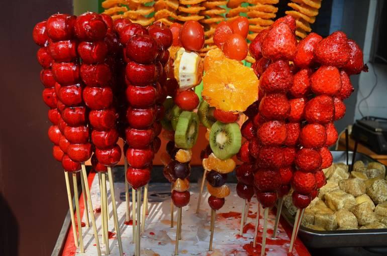 פירות מסוכרים - הממתק החביב על הילדים (צילום: נוגה פייגה)