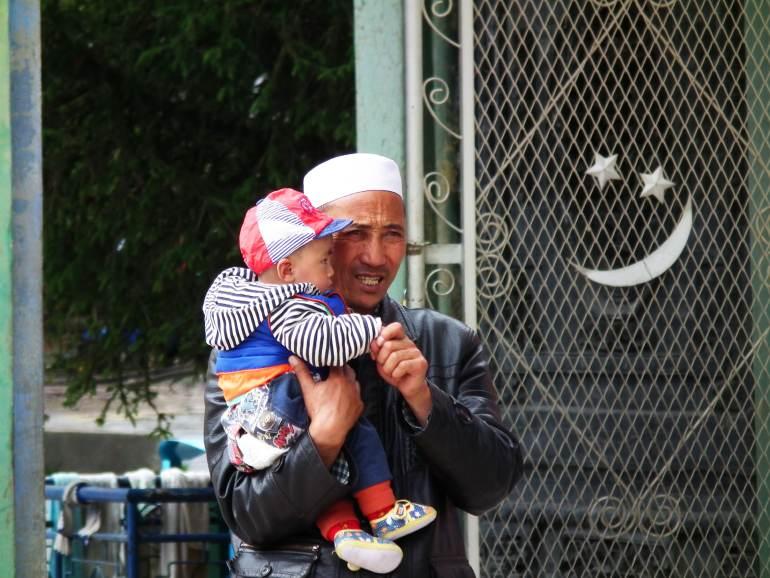 תושבים מוסלמים בלאנגמוסה (צילום: טל דרניצקי)