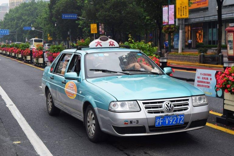 מונית רשמית בסין. צילום אילוסטרציה (צילום: טל ניצן)