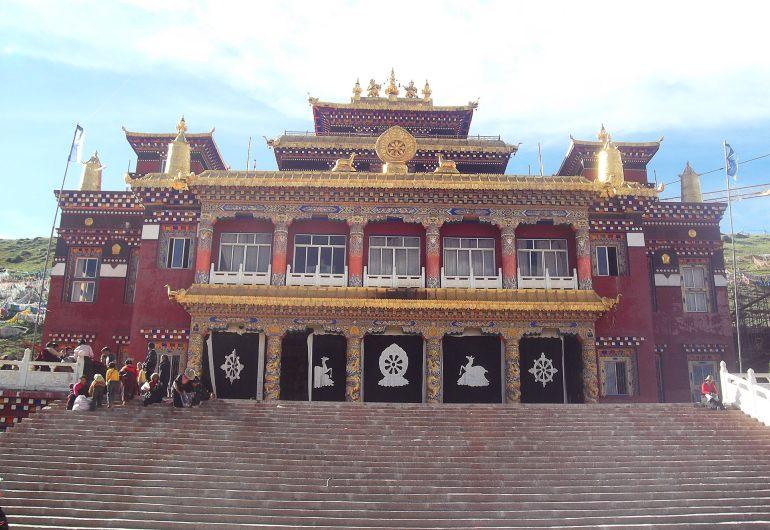 מקדש במתחם דזוגצ'ן גומפה (צילום: נוגה פייגה)