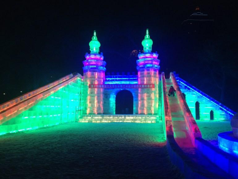פסטיבל השלג והקרח של חרבין 2017 (צילום: שלי וולקוביץ')