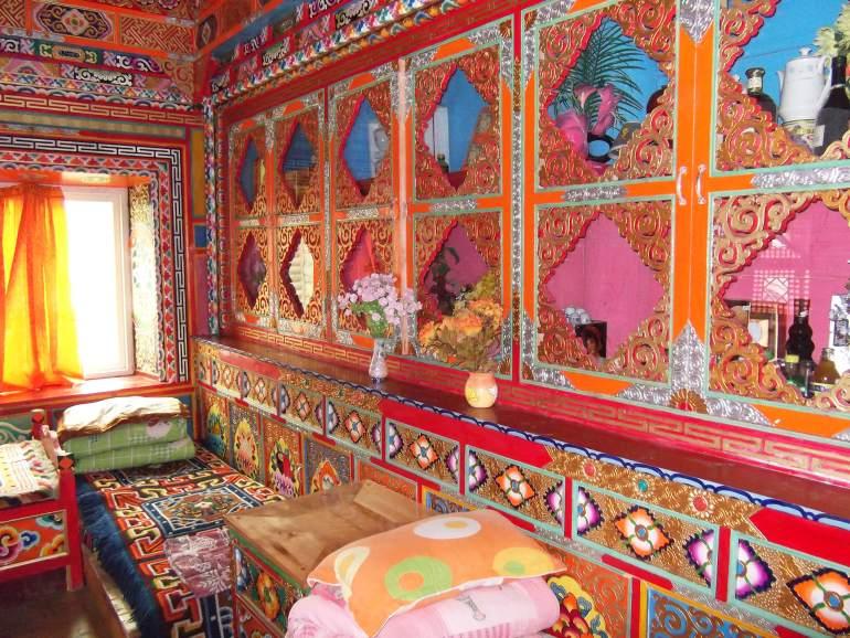 בית ההארחה של האחיות הטיבטיות. לינה טיבטית בזול (צילום: נוגה פייגה)