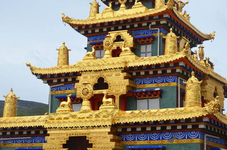 מגורי הנזירים במתחם המקדשים החדש (צילום: נוגה פייגה)