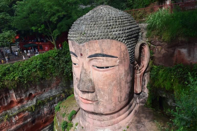 הבודהה הגדול של לשאן (צילום: טל ניצן)