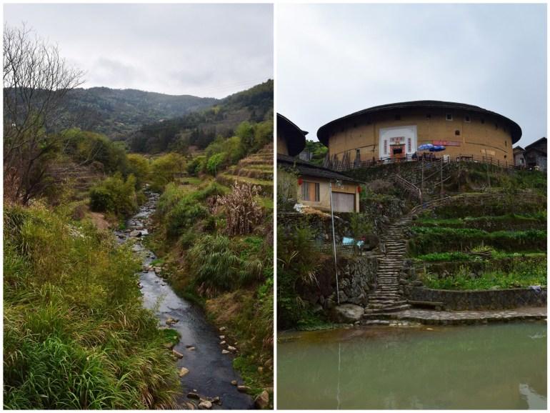 פלגי מים ורמים בין ובתוך כפרי הטולואו (צילום: טל ניצן)