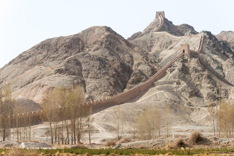 החומה התלויה. מתפתלת על ההר כדרקון (צילום: שאטרסטוק)