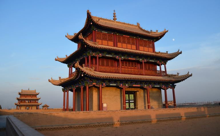 מבצר ג'יה-יו-גואן (צילום: נוגה פייגה)