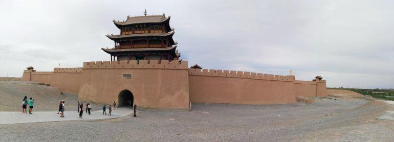 מבצר ג'יה-יו-גואן (צילום: שני אפלבאום)