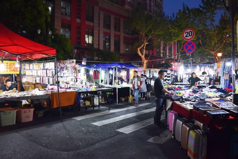 שוק הלילה של וושאן (צילום: טל ניצן)
