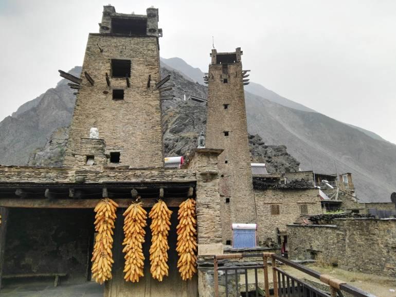 מגדלי השמירה של טאופינג. עדות להיסטוריה של מאבקים (צילום: שני אפלבאום)